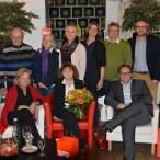 Martina Stamm-Fibich beim Talk auf dem roten Stuhl